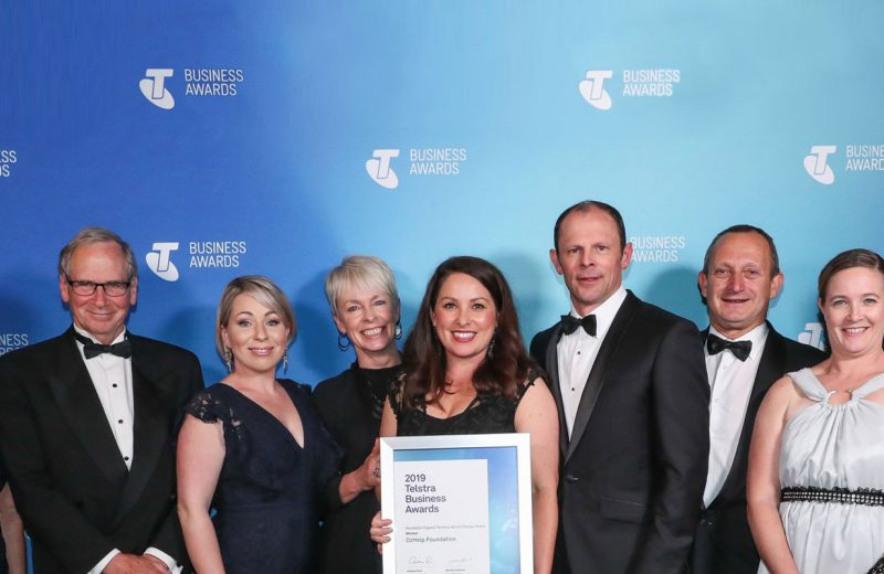OzHelp named ACT Telstra Social Change Maker of the Year