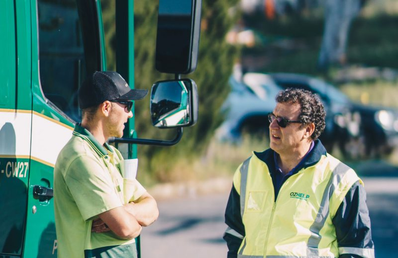 Literature review informs truck driver health and wellbeing program